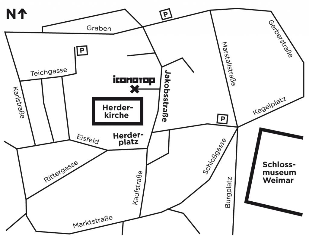 Anfahrt Iconotop