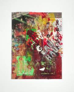 "Renschin, René: Serie ""Medialer Informationskannibalismus"", 2012-13, 36 x 27 cm, Mixed Media auf HDF-Platte, Preis Stk.: 280 EUR"