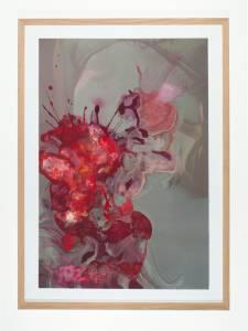 """Bixby, Brian: """"IN THE DARKEST PLACES, 2014 Pigment Inkjet-Print auf Hahnmühle Pearl 285g/ qm, Wasserfarbe, 76,2 x 50,8 cm  (Preis auf Anfrage)"""