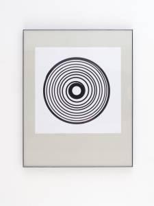 """McCarthy, Philipp: """"45"""", 2015, 31 x 31 cm, Tusche auf Papier, Preis auf Anfrage"""