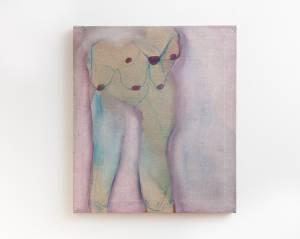 "von Reis, Pia: ""Gaia"", 2015, 38,5 x 33,5 cm, Gouache, Tusche und Aquarellfarbe auf Leinen, Preis 330 EUR"