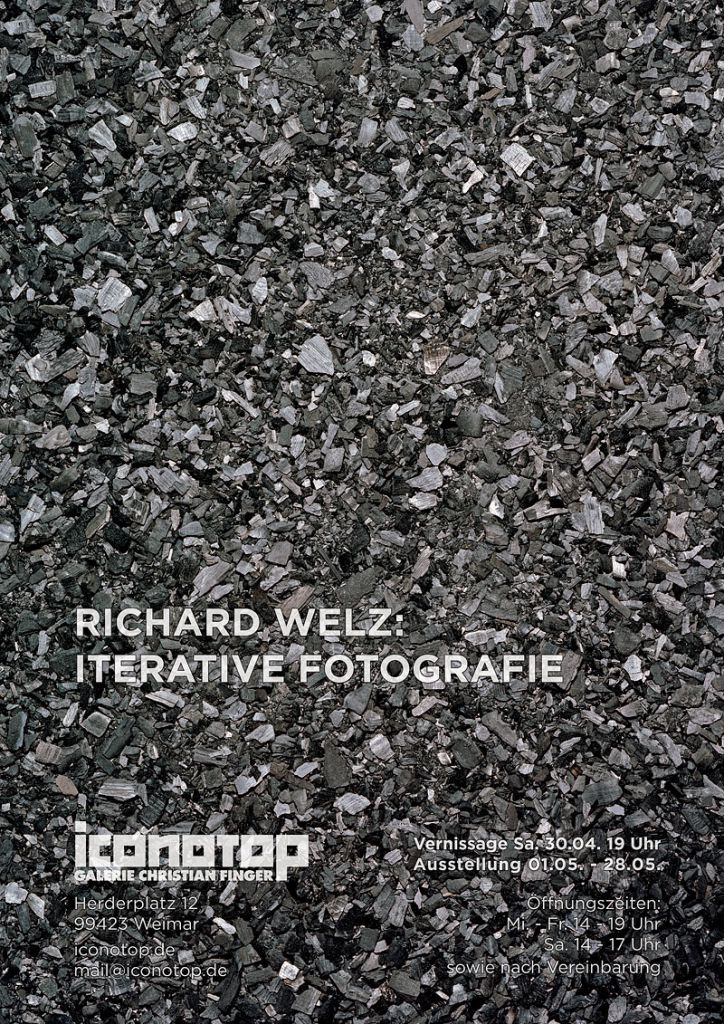 Richard Welz: Iterative Fotografie Iconotop - Galerie Christian Finger